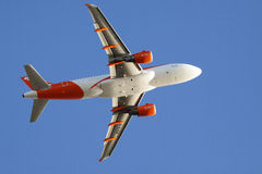 Easyjet commercial airliner Royalty Free Stock Images