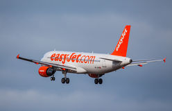 Easyjet - Easy Jet Aircraft Stock Image