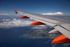 EasyJet Flugzeug Stockbild