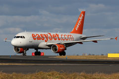 EasyJet flygbolag Royaltyfria Foton
