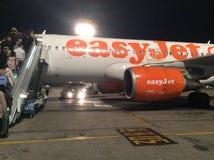 EasyJet flygbolag Fotografering för Bildbyråer