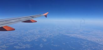 easyJet inflight pictures royalty free stock images