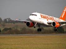 Easyjet Landung Stockbild