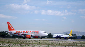 Easyjet and Monarch Stock Photos
