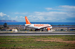 Easyjet Passenger Plane Royalty Free Stock Image