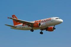 A319 Easyjet Royalty Free Stock Photo