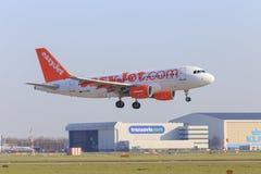Easyjet and Transavia Royalty Free Stock Photo
