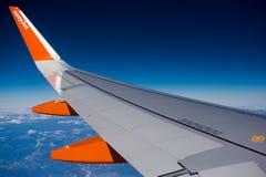 Easyjet wing Royalty Free Stock Photo