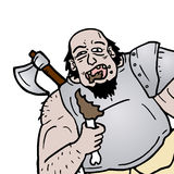 Eat barbarian. Creative design of Eat barbarian Stock Photography