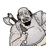 Eat barbarian. Creative design of eat barbarian Royalty Free Stock Image