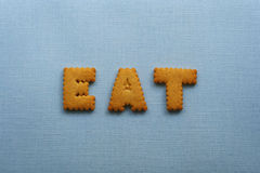 Eat Cookies Stock Images