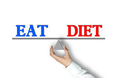 Eat Diet Balance Royalty Free Stock Photo