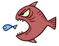 Eat fish. Creative design of eat fish Stock Images