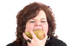 Eat fruit! Stock Images