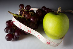 Eat fruit for diet and good health. Royalty Free Stock Photo