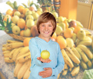 Eat fruit, is healthy! Royalty Free Stock Photos