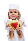 Eat fruits - doctor's orders Stock Photography