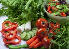 Eat green Stock Image