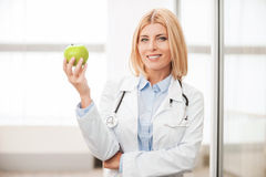 Eat healthy! Royalty Free Stock Photography