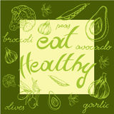Eat healthy Stock Photography