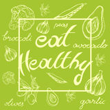Eat healthy Royalty Free Stock Photography