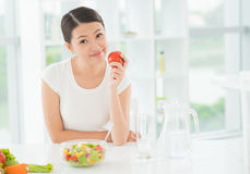 Eat healthy Stock Image