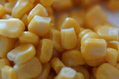 Eat healthy - Yellow corn in close-up