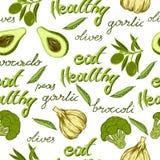 Eat healthy Stock Image