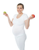 Eat healthy. Stay safe during pregnancy Stock Images