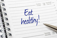 Eat healthy Royalty Free Stock Image