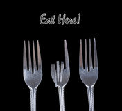 Eat here. Royalty Free Stock Photo