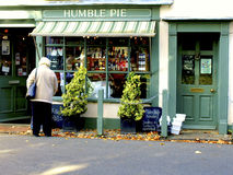 Eat Humble Pie Stock Image