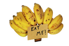 Eat me banana Stock Photo