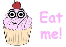Eat me cake Stock Image
