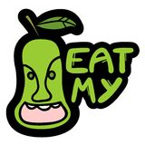 Eat me pear Stock Photos