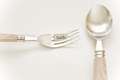 Eat What You Want - FAITH Royalty Free Stock Image
