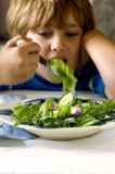 Eat your vegetables Stock Photography