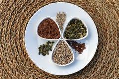 Eatable семена Стоковое Изображение RF