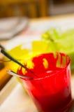 Eatable colors Stock Photos