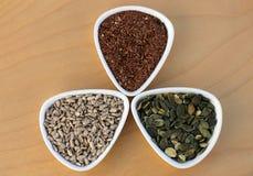 Eatable seeds Stock Photography