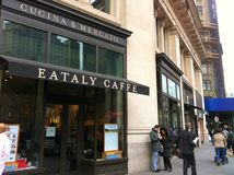 Eataly Cafe Royalty Free Stock Image