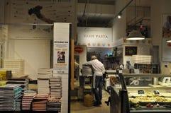 Eataly i New York City Arkivbild