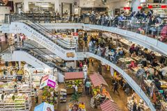 Eataly Is A Chain Supermarket Selling All Products Related To Italian Gastronomy. This Supermarket Is Located In Porta Garibaldi, Royalty Free Stock Photo