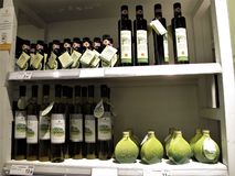 Eataly lager i Rome arkivfoto