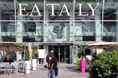 Eataly in Milaan Stock Afbeeldingen
