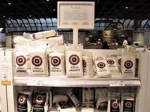 Eatalyopslag in Rome stock afbeeldingen