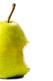 Eaten pear Stock Images