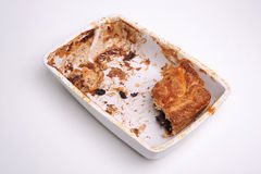 Eaten pie Royalty Free Stock Photography