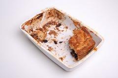 Eaten pie Royalty Free Stock Photography