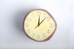 Eaten time royalty free stock photography